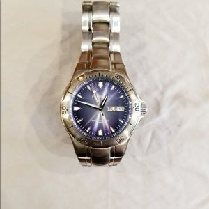 Men's Armitron stainless steel watch